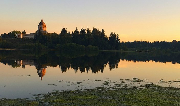 Olympia area of Washington State.